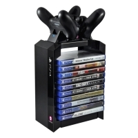 PS4 Games Tower   Dual Charger
