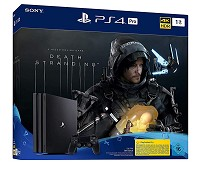 PlayStation 4 Pro Konsole 1TB Death Stranding Bundle (CUH-7216B) (PS4)