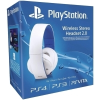 PlayStation 4 (PS4) White Wireless Stereo Headset 2.0 Limited Edition (PS4)