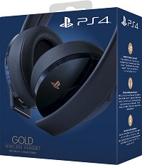 PlayStation 4 (PS4) Wireless 7.1 Headset GOLD 500 Millionen Special Edition