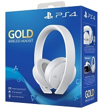 PlayStation 4 (PS4) Wireless 7.1 Headset GOLD WHITE Edition