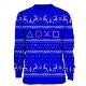 PlayStation Symbols Xmas Pullover Blue (L)