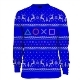 PlayStation Symbols Xmas Pullover Blue (M)