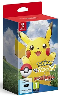 Pokemon: Lets Go! Pikachu! + Pokeball Plus (Softbundle) (Nintendo Switch)