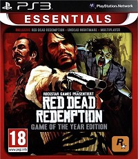 Red Dead Redemption Game Of The Year [uncut Essentials Edition] Neuauflage! - Cover beschädigt (PS3)