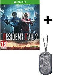 Resident Evil 2 Remake [HD uncut Edition] + Umbrella Dog Tag (Xbox One)
