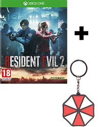 Resident Evil 2 Remake [HD uncut Edition] + Umbrella Keychain (Xbox One)