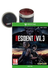 Resident Evil 3 [uncut Edition] + Zombie Candle (4D Kerze) Limited Edition (Xbox One)