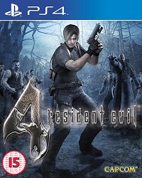 Resident Evil 4 [HD uncut Edition] - Cover beschädigt (PS4)
