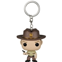 Rick Grimes Walking Dead POP! Keychain