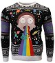 Rick & Morty Rainbow Xmas Pullover