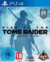 Rise of the Tomb Raider 20 Year Celebration uncut Edition - Cover beschädigt (PS4)