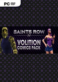 Saints Row 4 Volition Comics Pack