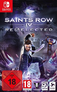 Saints Row 4 [Re-elected Limited Presidential uncut Edition] (Nintendo Switch)