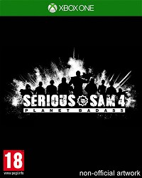 Serious Sam 4: Planet Badass [uncut Edition] (Xbox One)
