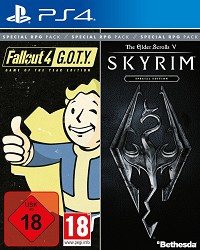 Skyrim Special Edition und Fallout 4 GOTY (Bethesda Special RPG Pack) (PS4)