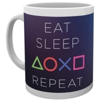 Sony PlayStation Eat Sleep Repeat Tasse (Merchandise)