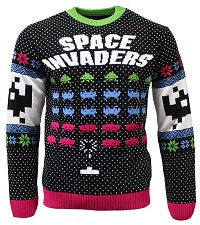 Space Invaders Xmas Pullover (XL) (Merchandise)