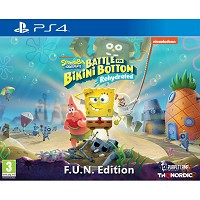 Spongebob SquarePants: Battle for Bikini Bottom - Rehydrated [FUN Edition] (PS4)