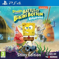 Spongebob SquarePants: Battle for Bikini Bottom - Rehydrated [Shiny Edition] (PS4)