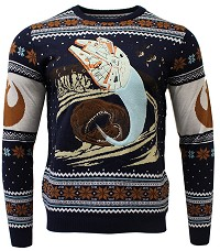 Star Wars Space Slug Escape Xmas Pullover (M) (Merchandise)