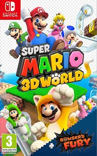 Super Mario 3D World plus Bowsers Fury für Nintendo Switch