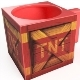 TNT Crash Bandicot Crate Tasse