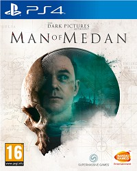 The Dark Pictures Anthology: Man of Medan - Cover beschädigt (PS4)