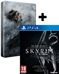 The Elder Scrolls V: Skyrim [Special Limited D1 Steelbook EU uncut Edition] (PS4)