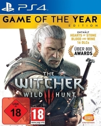 The Witcher 3: Wild Hunt [GOTY uncut Edition] (USK) - Cover beschädigt (PS4)