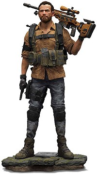 Tom Clancys  The Division 2 - Brian Johnson Figur (25 cm) (Merchandise)