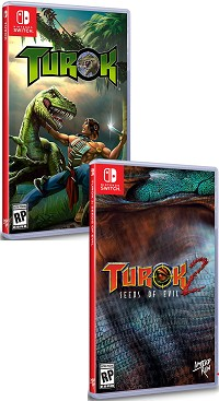 Turok 1 + 2 [Limited uncut Edtion] (2500 Stk. weltweit) (Nintendo Switch)