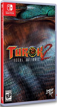 Turok 2 [Limited uncut Edtion] (2500 Stk. weltweit) (Nintendo Switch)
