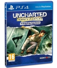 Uncharted: Drakes Fortune [Remastered EU uncut Edition] - Cover beschädigt (PS4)