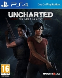 Uncharted: The Lost Legacy [AT Standard uncut Edition] (PS4)