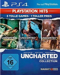 Uncharted: The Nathan Drake Collection 1-3 (USK) (Playstation Hits) (PS4)