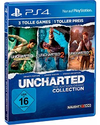 Uncharted: The Nathan Drake Collection 1-3 (USK) (Playstation Hits) - Cover beschädigt (PS4)