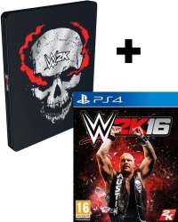 WWE 2K16 [Steelbook AT uncut Edition] inkl. Terminator DLC (PS4)