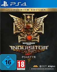 Warhammer 40.000: Inquisitor - Martyr [Imperium Steelbook Edition] (PS4)