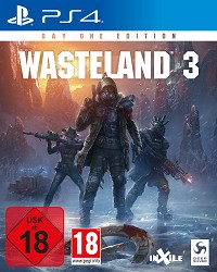 Wasteland 3 [uncut Edition] + Postcard (PS4)