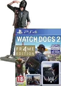 Watch Dogs 2 [Limited WRENCH FR4ME uncut Edition] inkl. Figur (24 cm) (PS4)