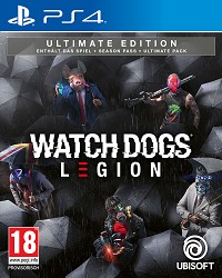 Watch Dogs Legion [Ultimate Bonus AT uncut Edition] (PS4)