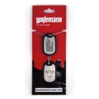 Wolfenstein BJ Blazkowicz Dog Tag (Merchandise)