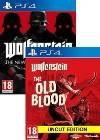 Wolfenstein Complete Bundle: The New Order + Old Blood (PS4)