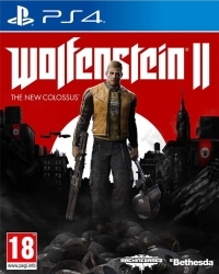 Wolfenstein II: The New Colossus Standard Edition [EU uncut] - Cover beschädigt (PS4)