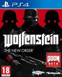 Wolfenstein: The New Order [EU uncut Edition] - Cover beschädigt (PS4)
