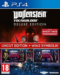 Wolfenstein: Youngblood [EU Legacy Deluxe uncut Edition] inkl. WW2 Symbolik + 10 DLCs (PS4)