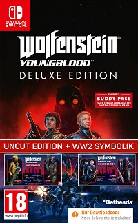Wolfenstein: Youngblood [EU Legacy Deluxe  uncut Edition] + 10 DLCs (Nintendo Switch)