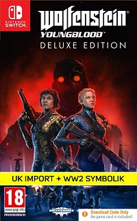 Wolfenstein: Youngblood [UK Import Deluxe uncut Edition] (Nintendo Switch)