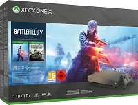Xbox One X 1TB Konsole Battlefield V Gold Rush Special Edition Bundle (Xbox One)
